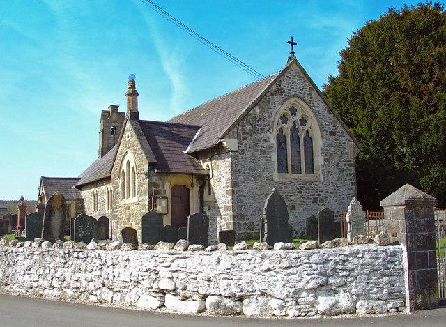 Parish church, Llanpumsaint