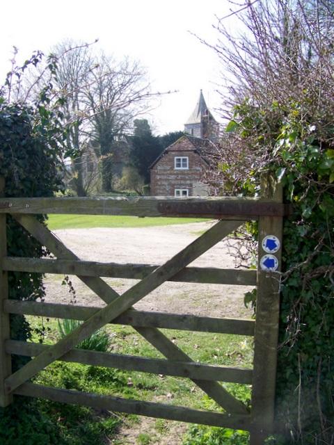 Bridleway gate, Pentridge