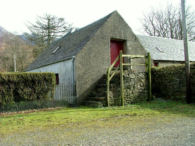 Steading at Glenbrittle House farm