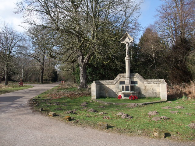 War memorial, Hardwick Village