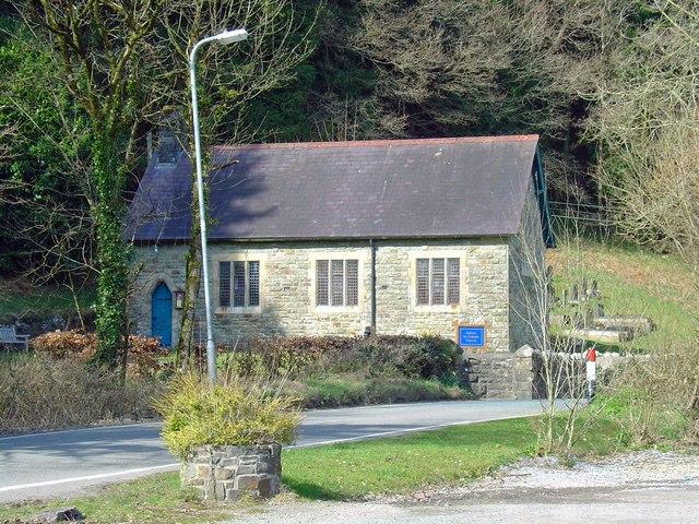 Chapel of St Celynin, Bronwydd, Llanpumsaint