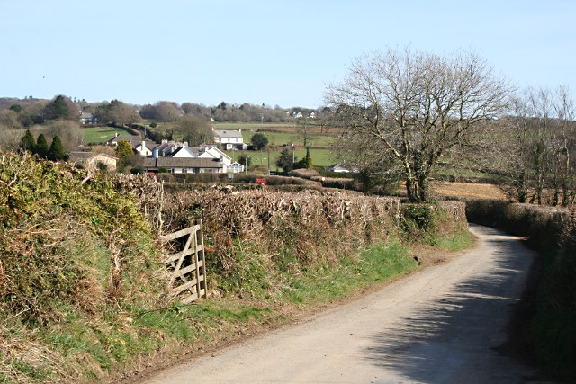 Looking towards Buckland Monachorum