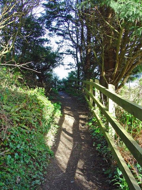 Coastal path, Dinas Island