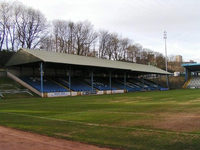 West Stand, the Shay Stadium, Halifax