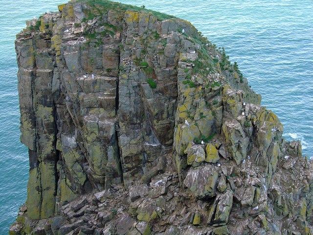 Needle Rock, Dinas