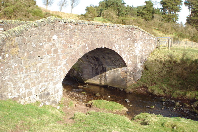 Old Bridge over West Water near South Slipperfield