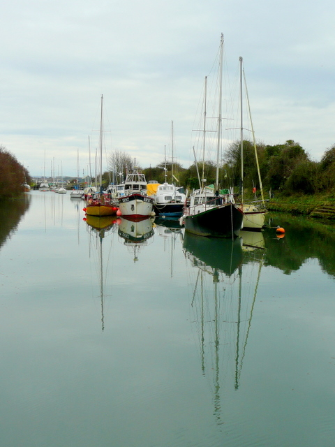 Vessels in Lydney Harbour