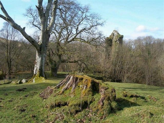 Kilkerran Castle View