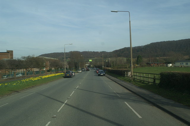 Footbridge over the A56, Woodhouses