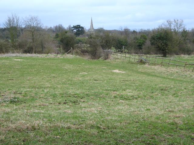 View towards Siddington