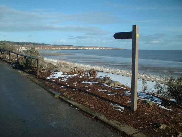 Footpath Waymarker North beach