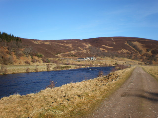 River Findhorn and Track going towards Carnoch