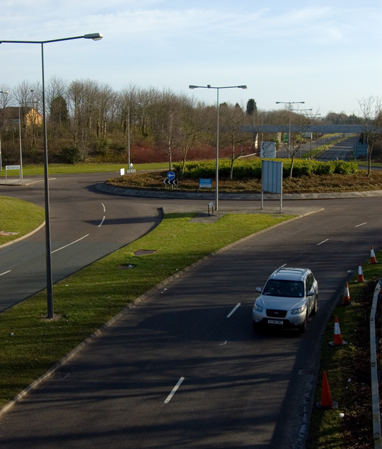 Milton Keynes roundabout