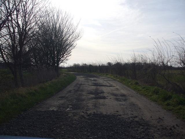 Track from Haldenby Grange