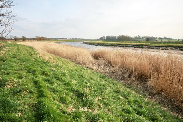 River Wyre at Out Rawcliffe
