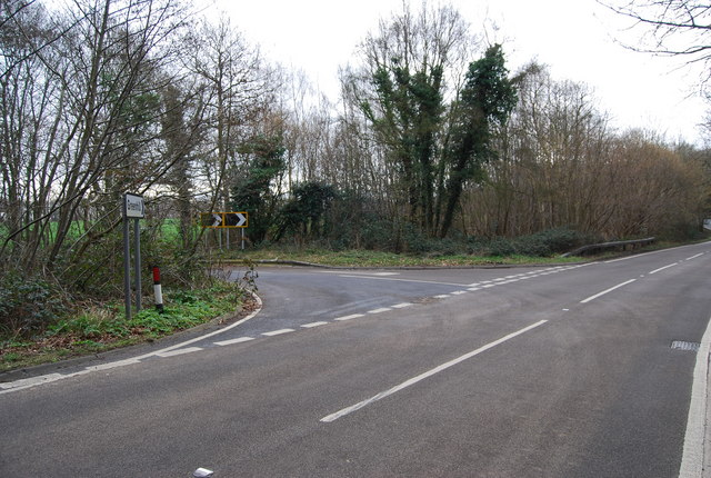 Hackington Rd, Thornden Wood Rd junction