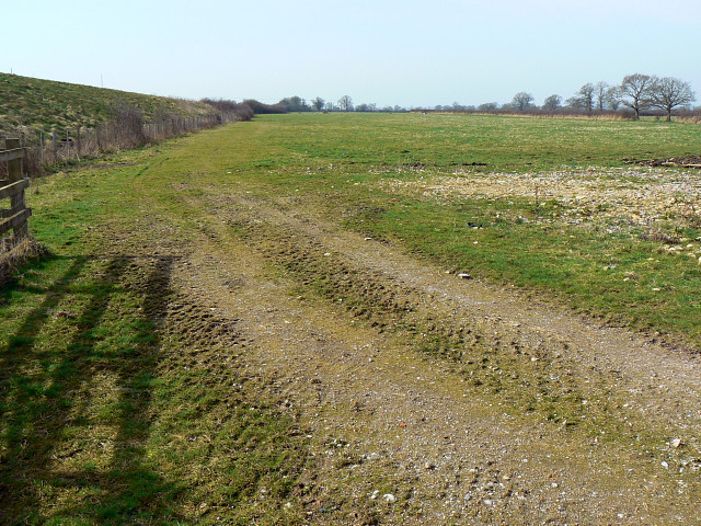 Field by the Bristol railway, near Dauntsey Lock
