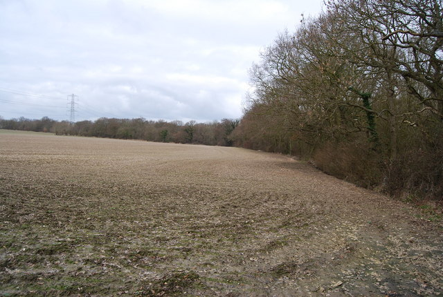 A large bare field off Hackington Rd
