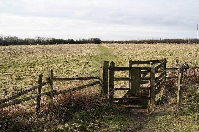 Keddington kissing gate