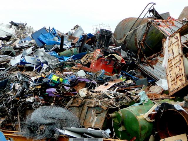 It's a load of scrap