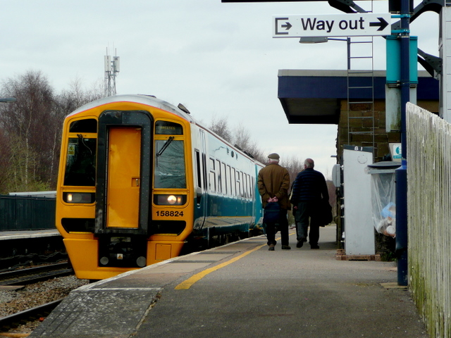 Lydney Station Scene 1