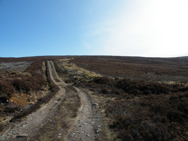 Moorland Track going to Maol an Tailleir