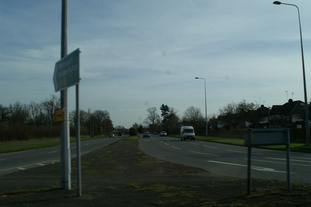 The A41 Chester by-pass