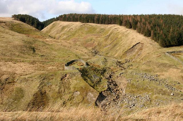 Damaged sheepfold