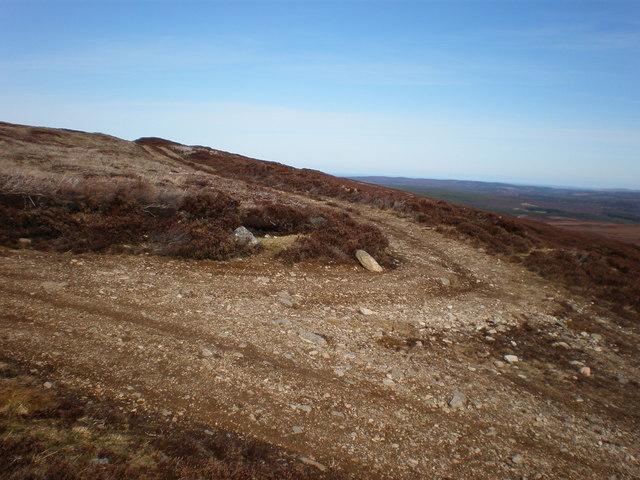 Track Junction near Maol an Tailleir summit Plateau
