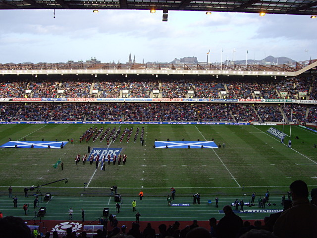 Murrayfield from the West Stand