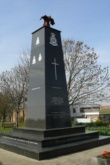 R.A.F. Memorial, Croydon Airport