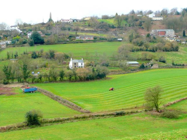Plump Hill, viewed from Abenhall