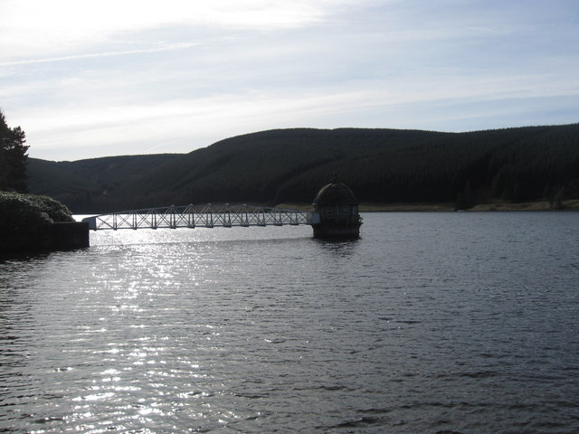 Water intake tank at Talla Reservoir