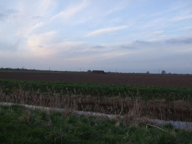 Fields over Hatfield Waste Drain