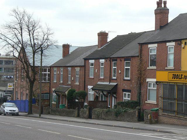 Housing on Hucknall Road