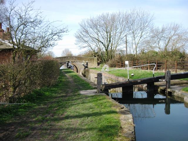 Puttenham Bottom Lock – Lock 11 on the Aylesbury Arm
