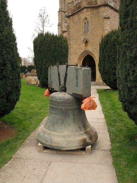 Bell, Martock church