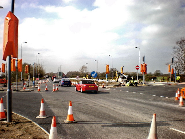 Road improvements at the junction of theA59 and B6230
