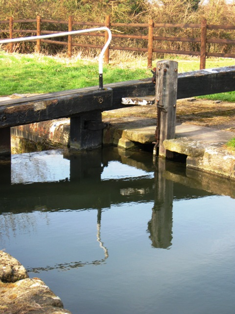 Lock 11 – Paddle Mechanism for the top gate.