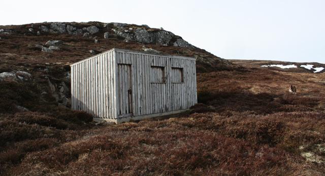 Lunch Hut, Creag na h-Iolaire