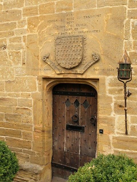 Door and panel, Court House, Martock