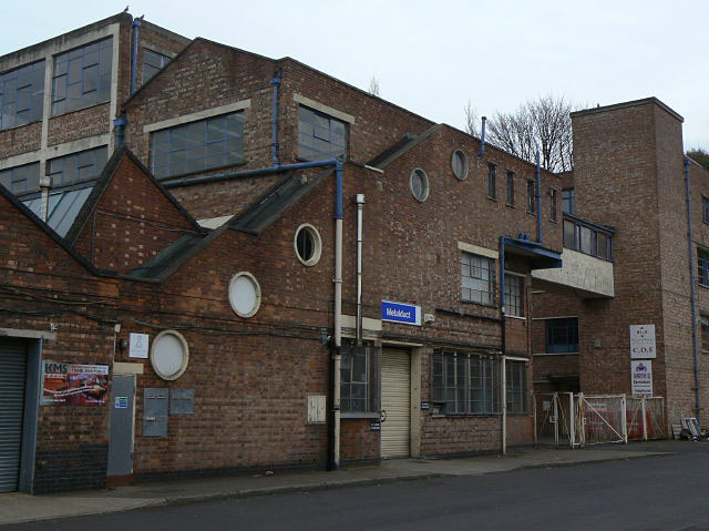 Industrial building off haydn Road