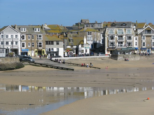 Low Tide in St Ives Harbour