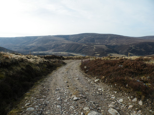 Track Junction above Daless