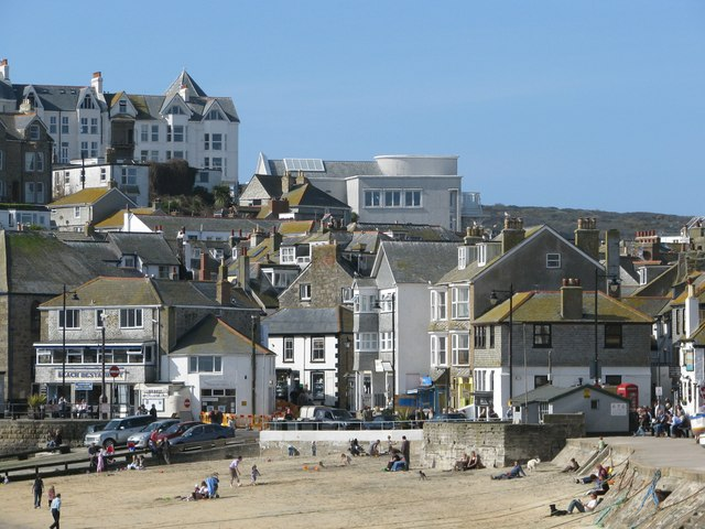 Tate St Ives seen from the harbour