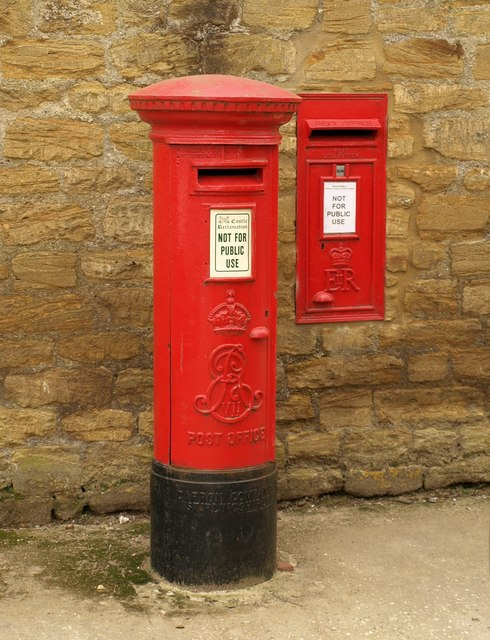Postboxes, Parrett Works