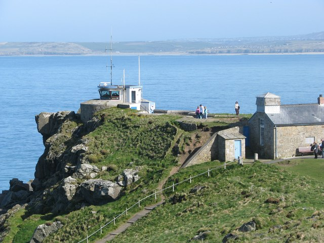Coastwatch lookout station on St Ives Head