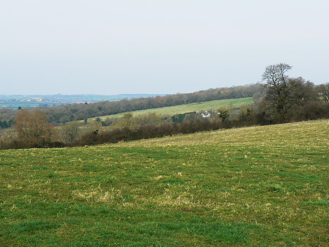 View north from a footpath, Bowd's Lane, near Lyneham