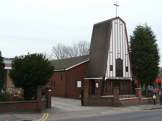 Polish Church on Sherwood Rise