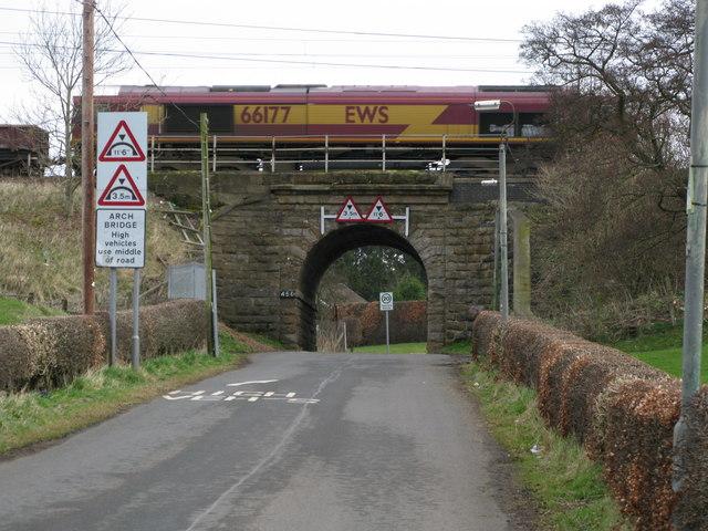 Railway Bridge beside Carluke Railway Station